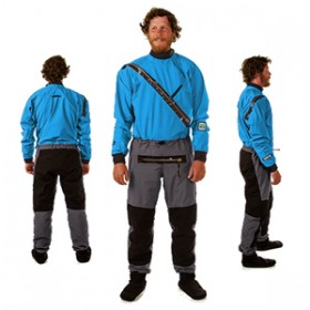 GORE-TEX® Front-Entry dry-suit (droogpak) (front-relief) - Heren